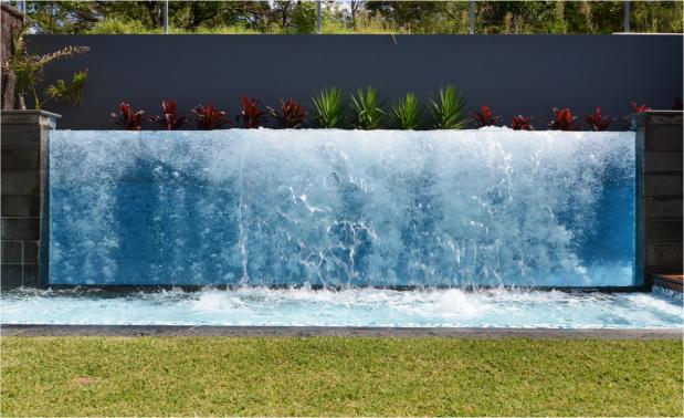 2013 MBA Excellence in Swimming Pool Awards Winner Water Features Open Price Category